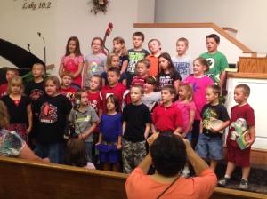 Singing Kids!